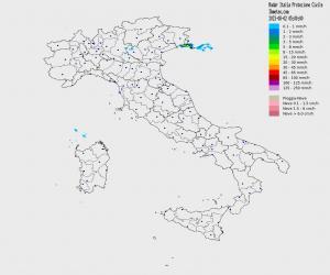 Meteo Italia Cartina.Meteo In Tempo Reale